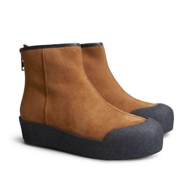 Rizzo Celina curlingboots i mokka, dame