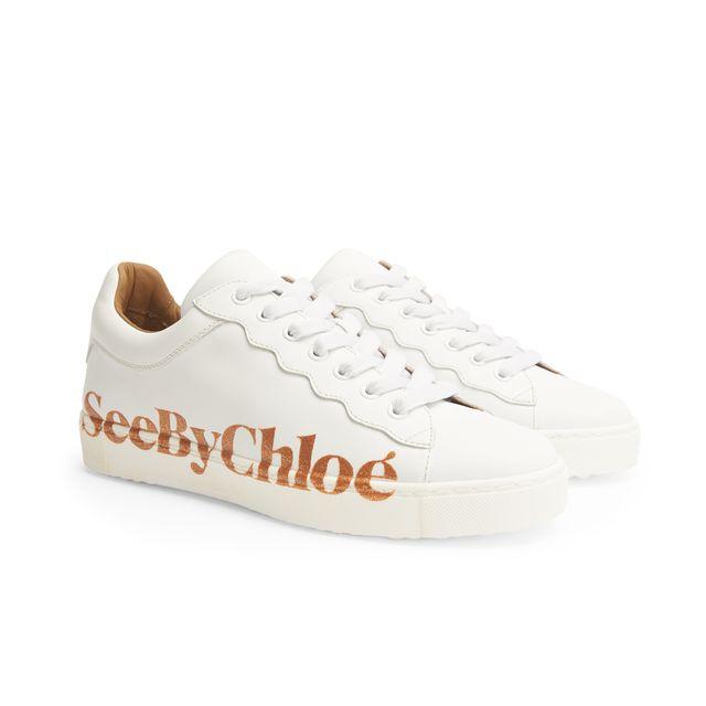 See By Chloé Essie sneakers i skinn, dame