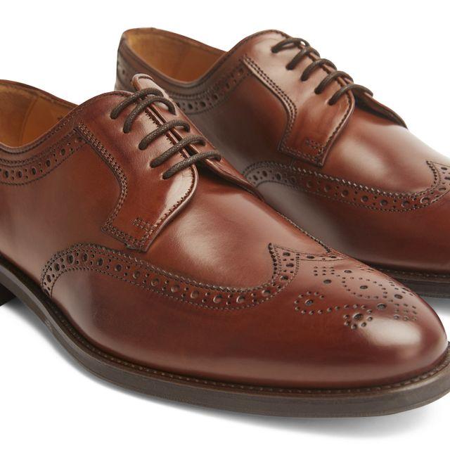 Rizzo Ariano lave sko i skinn, herre