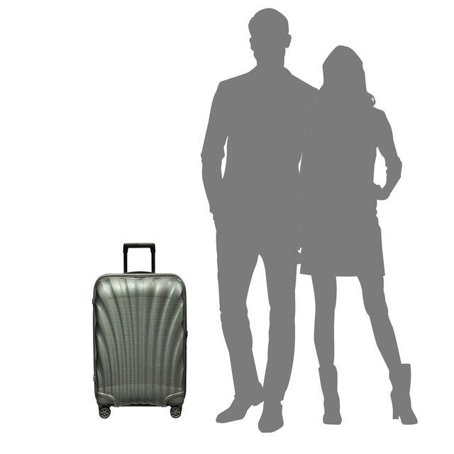 Samsonite C-Lite hard koffert, 4 hjul, 69 cm