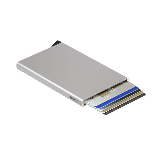 Secrid liten lommebok i metall