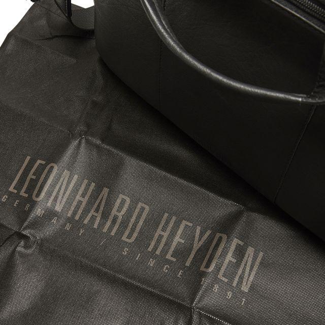 Leonhard Heyden Dallas pc mappe i skinn, 13 tommer