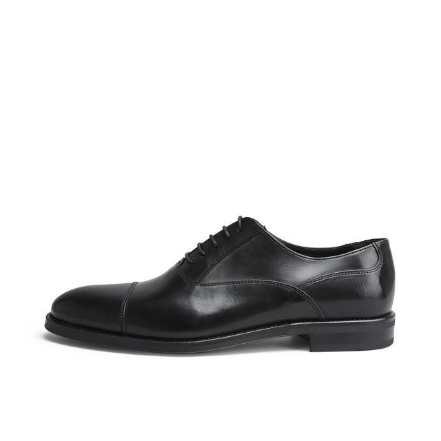 Rizzo Aldo lave sko i skinn, herre Morris